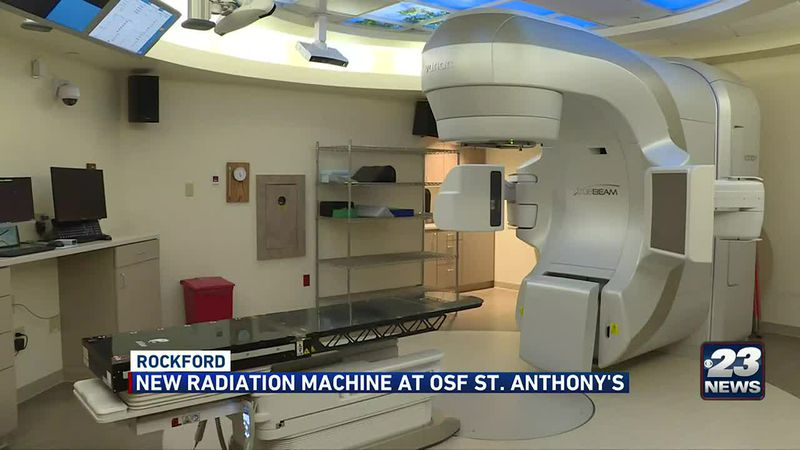 New radiation machine unveiled