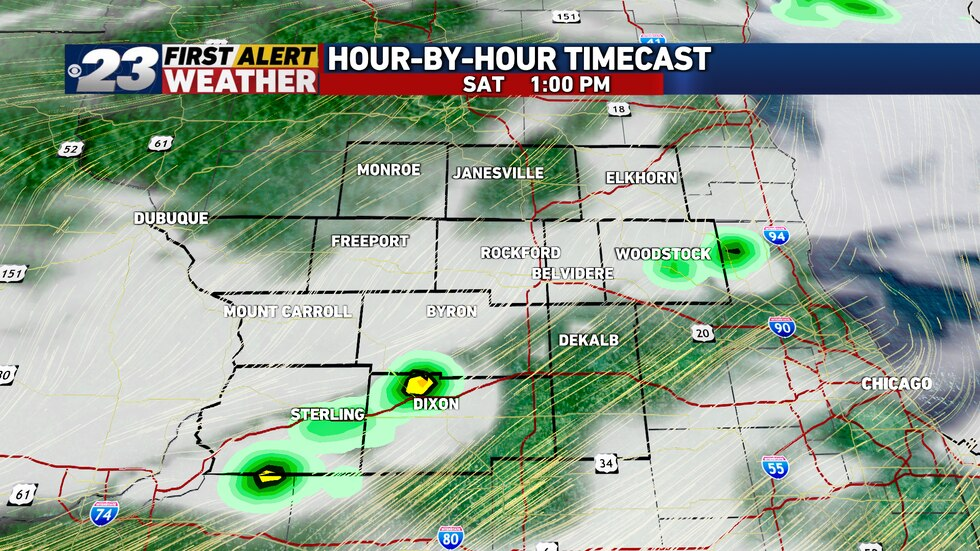 A first round of storms will move through in the late morning or early afternoon. Depending on...