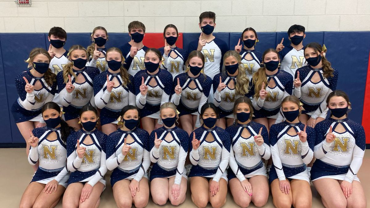 The Belvidere North co-ed cheer squad won its 10th straight NIC-10 title on Tuesday. The...