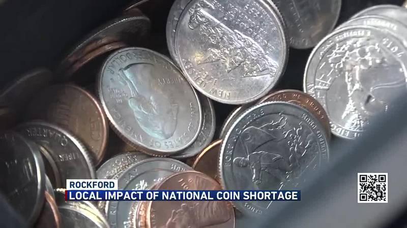 COIN SHORTAGES AGAIN