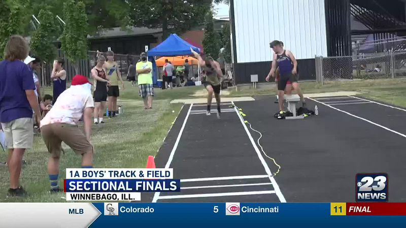 1A Boys Track Sectional Final