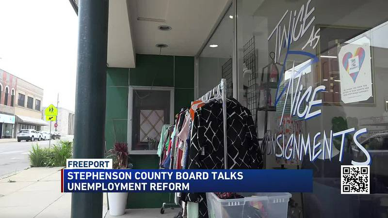 Stephenson County board members pass resolution to request Illinois Unemployment Benefits reform.