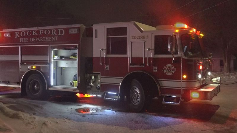 The Rockford Fire Department responded to a four family apartment building that was showing...