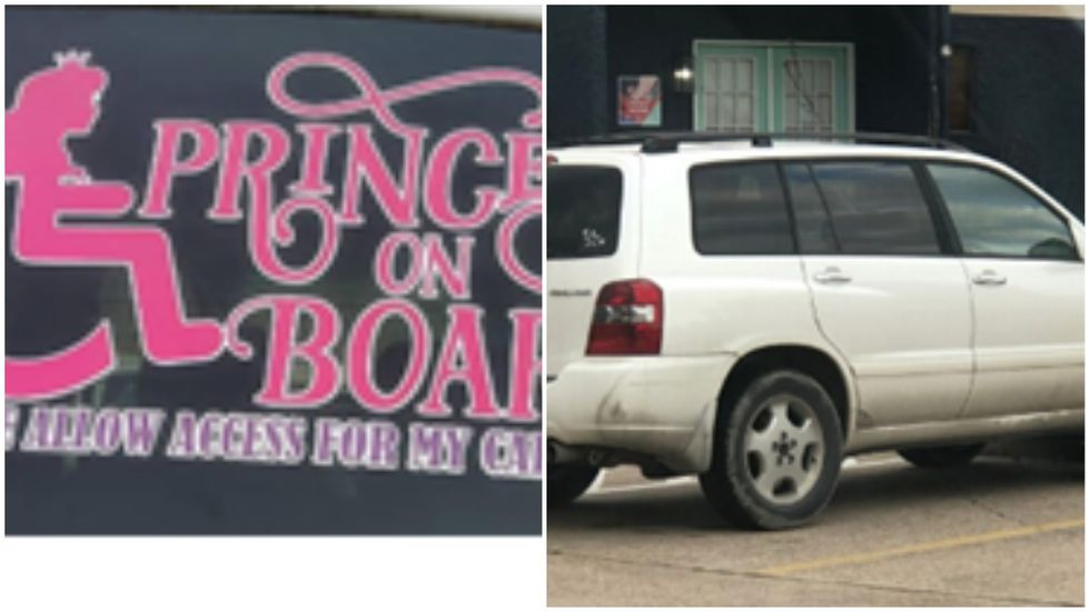 The two are believed to be in a 2006 Toyota Highlander with Texas License plate number MWS8187...