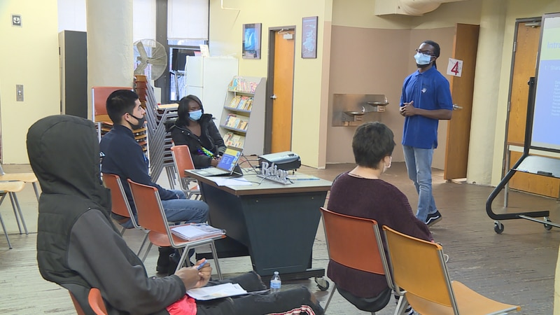 Comprehensive Community Solutions hosts an open house for its YouthBuild Rockford program.