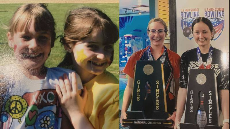 Olivia Watton (left) and Jocelynn Eggert (right) met in preschool and ever since the dynamic...
