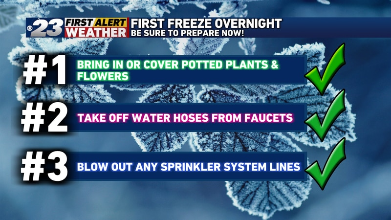 Follow these tips to keep your plants and other households items protected from frost.