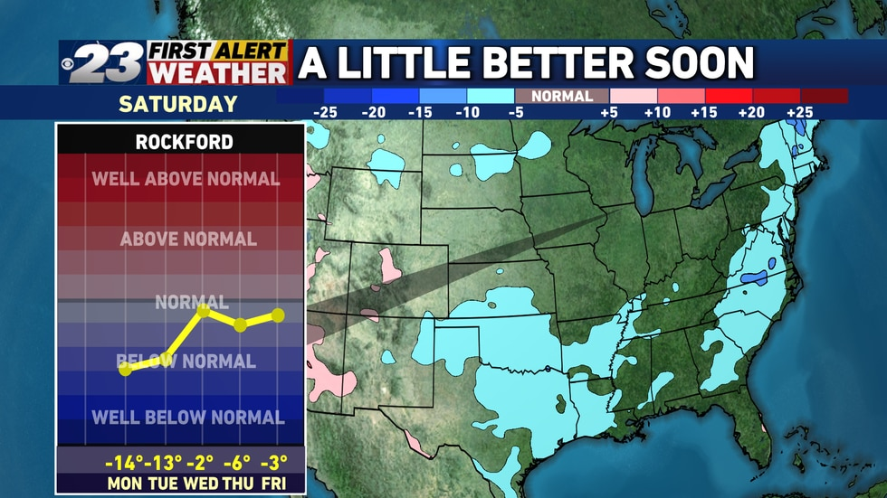 Finally, by Halloween, the chill will have retreated, and slightly above normal temperatures...