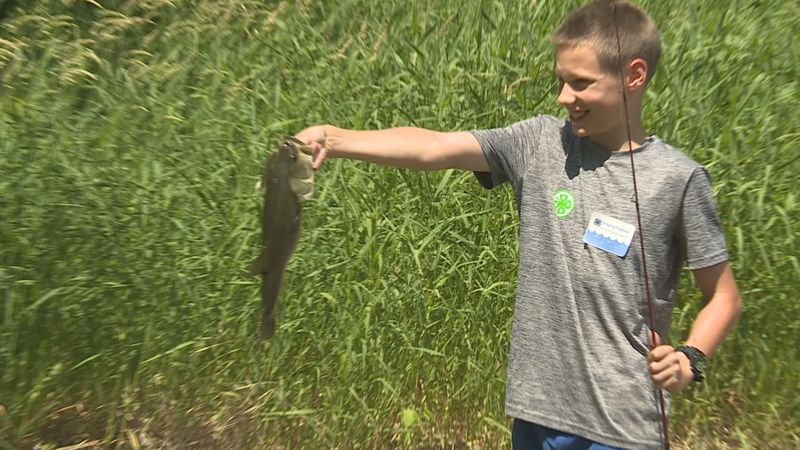 University of Illinois Extension's 4-H Bass Fishing Club is giving young kids the skills to...