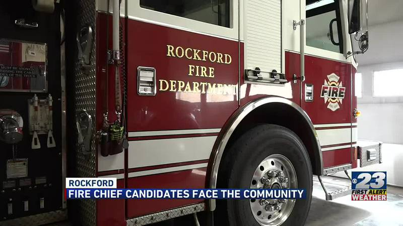 Candidates answer final questions as the race for fire chief nears the end.