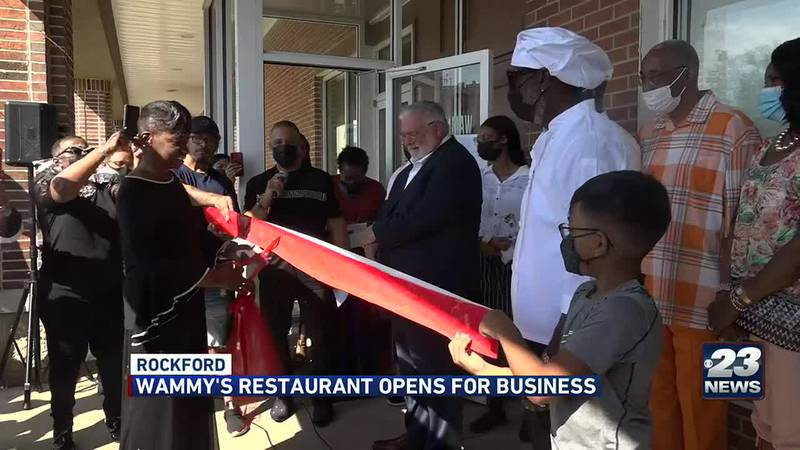 Local leaders join dozens of community members for grand opening of new business on Alpine Road.
