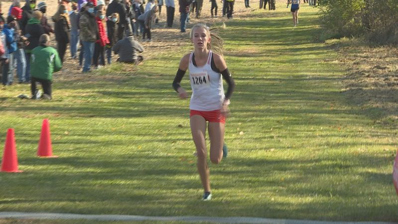 Senior Natalia Martino led Winnebago to another sectional title in girls cross country.