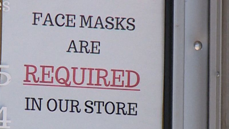 sign on a Chippewa Falls business door