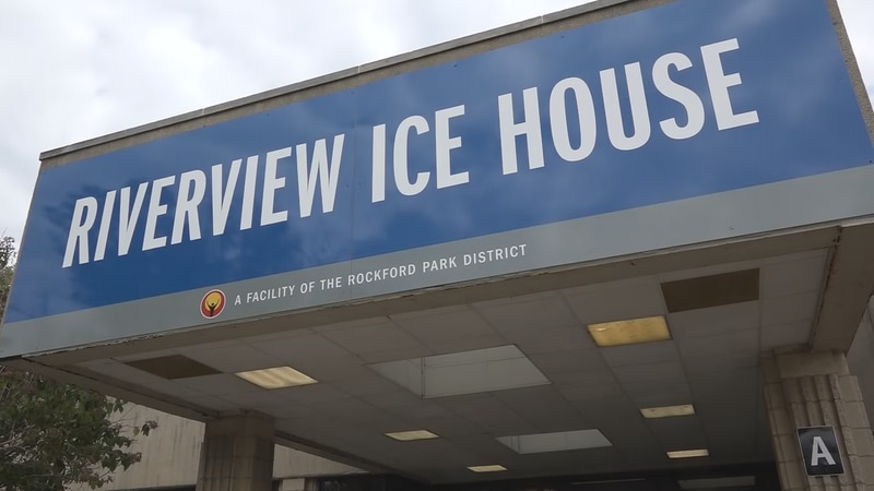 Riverview Ice House in downtown Rockford.
