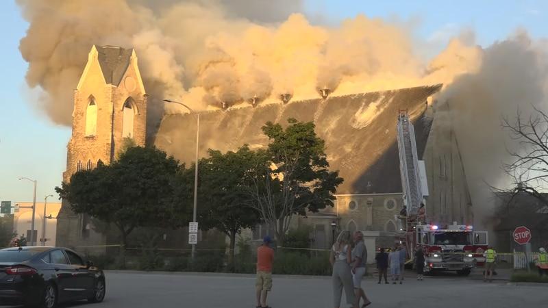 Rockford man sentenced for setting church on fire