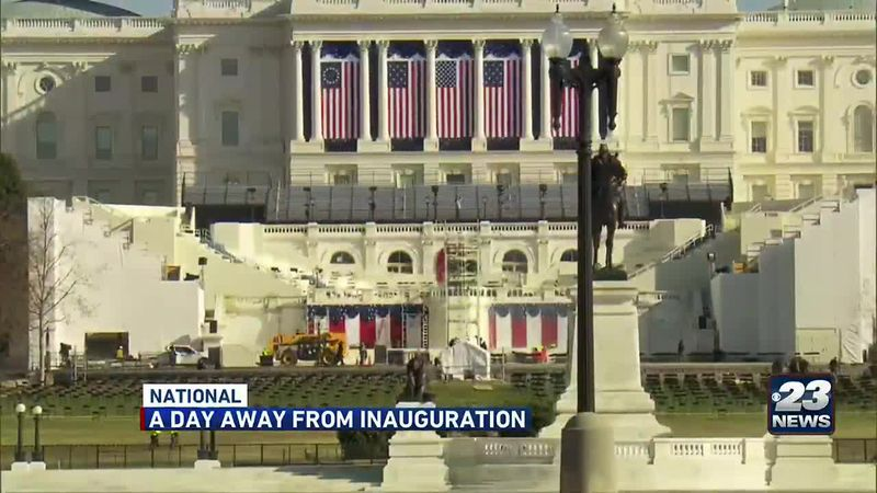 A Day Away from Inauguration