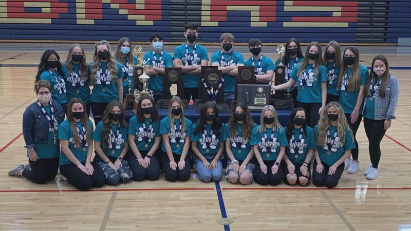 Belvidere North brought home another state trophy at this year's virtual state meet. The Blue...