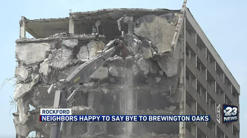 Residents and redevelopers looking to revitalize the area when demolition is done.