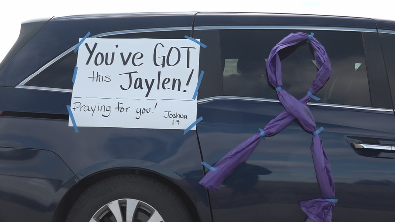 The community rallies to send Jaylen and his family off to Minnesota for what could be a life...