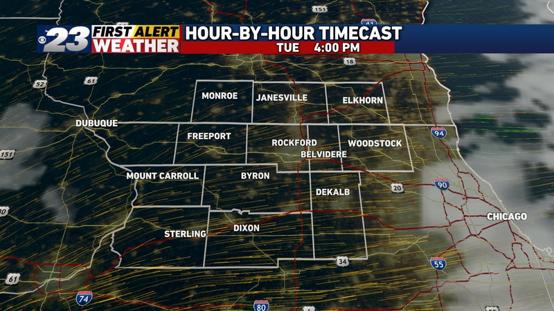 It's likely most, if not all of our area will be treated to several hours of sun Tuesday...