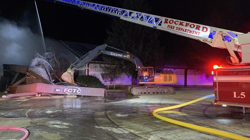 Former Forest City Tennis Club fire