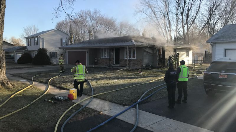Fire officials say they were called to the 1400 block of 14th Ave. around 8 a.m. for a house...