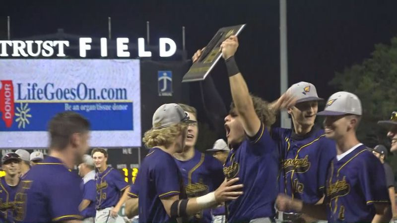 Hononegah baseball captures its first Super-Sectional plaque with a 9-7 win over Prospect.