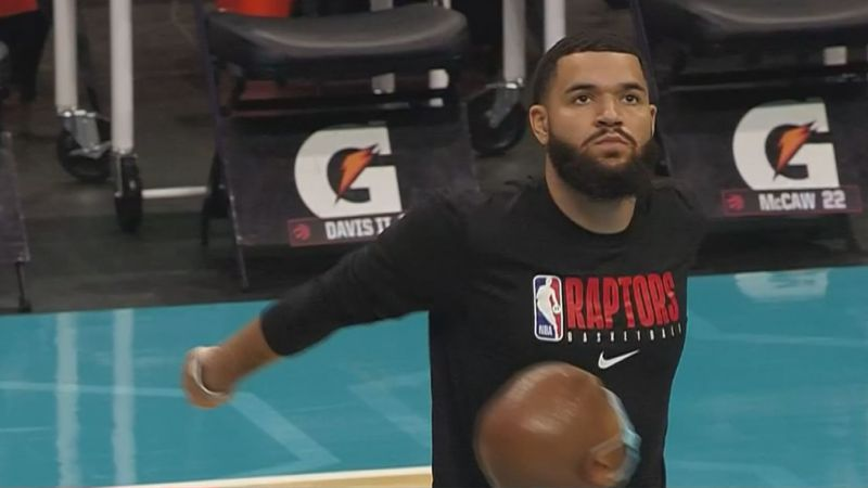 Fred VanVleet scored nine points and recorded five assists in Toronto's 111-100 win over...