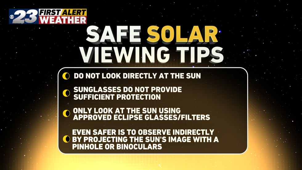 Remember these tips for all eclipses!