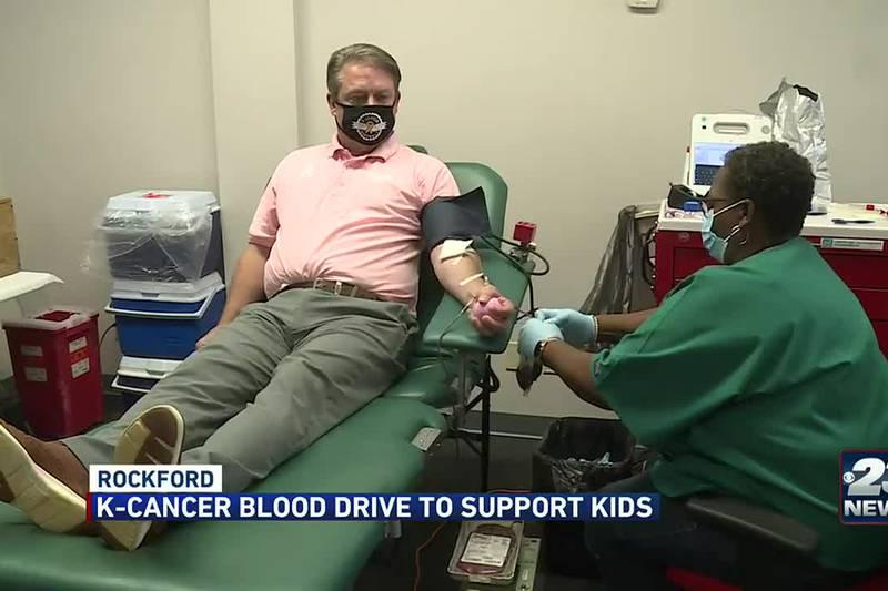 K-cancer blood drive