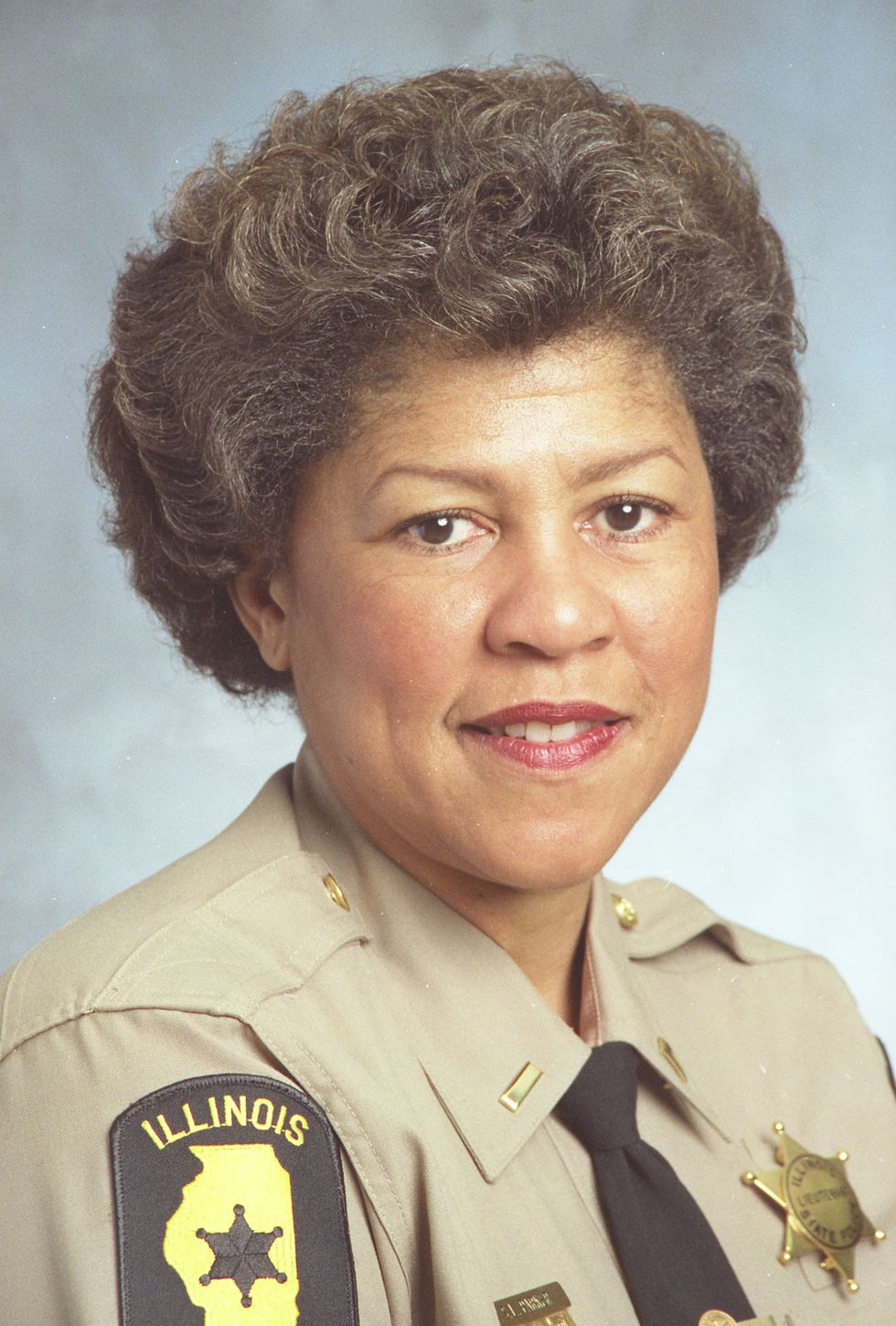 Ret. Lieutenant Sheila Parker was one of the first African-American female ISP troopers (Cadet...