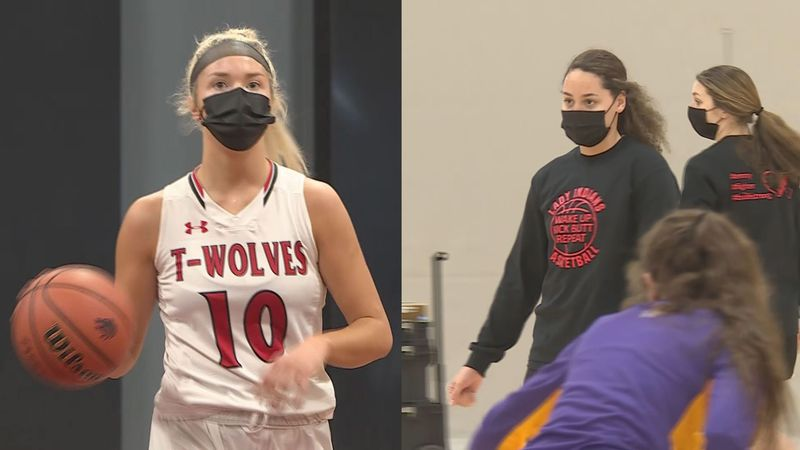 There were a number of area girls selected to the AP All-State teams in Class 1A and 2A. Indian...