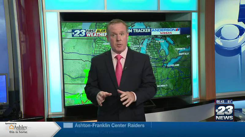 Isolated/Scattered Showers to begin the Weekend