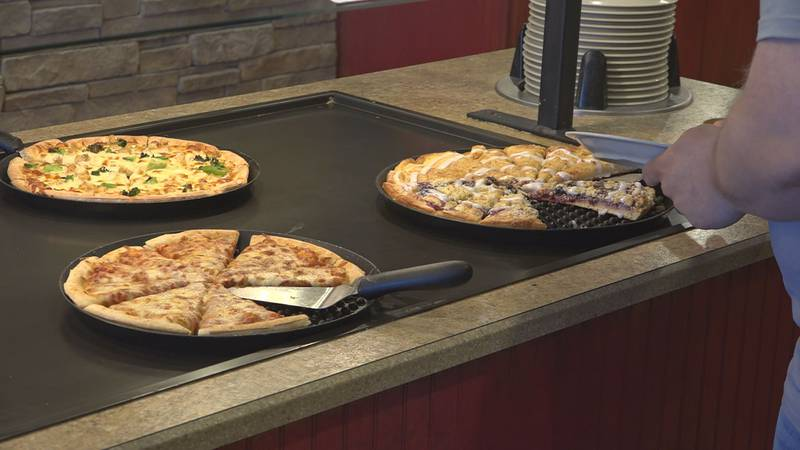 The pizza buffet will not look the same as it used to.