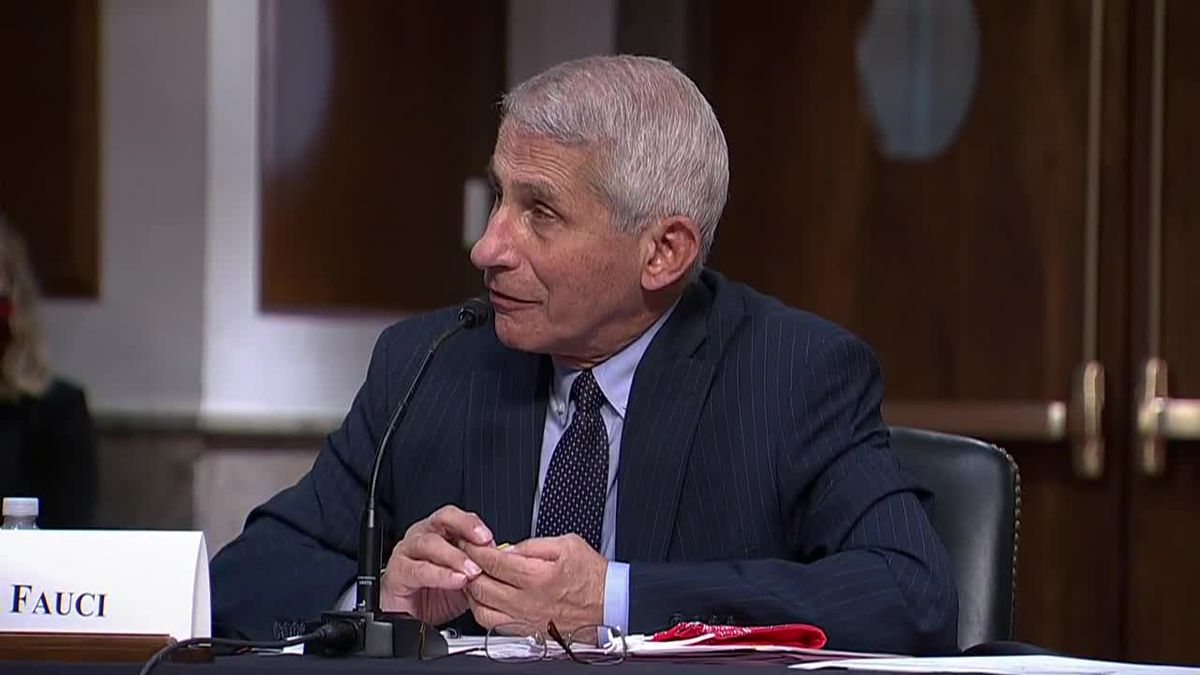 Health expert Dr. Anthony Fauci is among those urging young people to wear a mask to curtail the spread of COVID-19.
