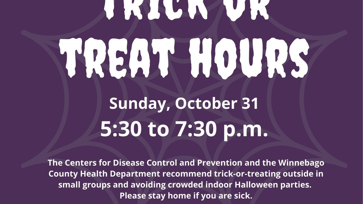 Find out when you can trick...or treat