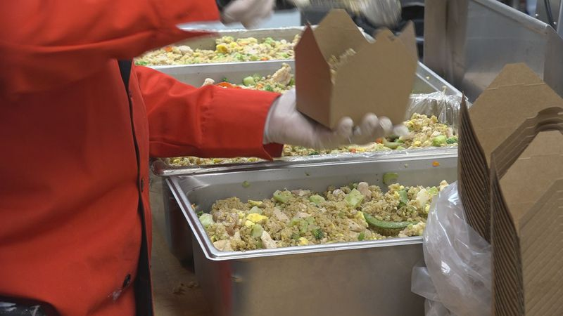 The program launched two weeks ago, and to date, they've handed out about 2,800 restaurant...