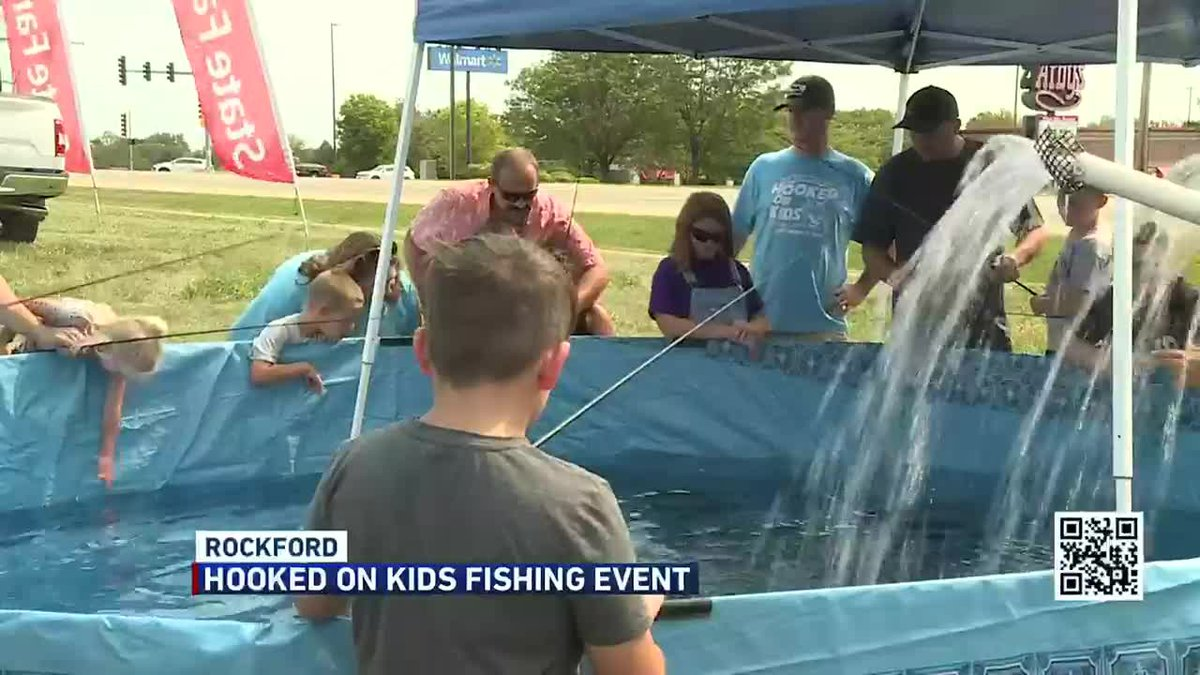 State Farm hosts fishing derby for kids