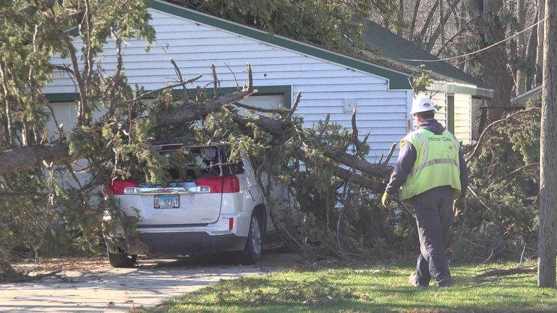 Winnebago suffers severe thunderstorm damages