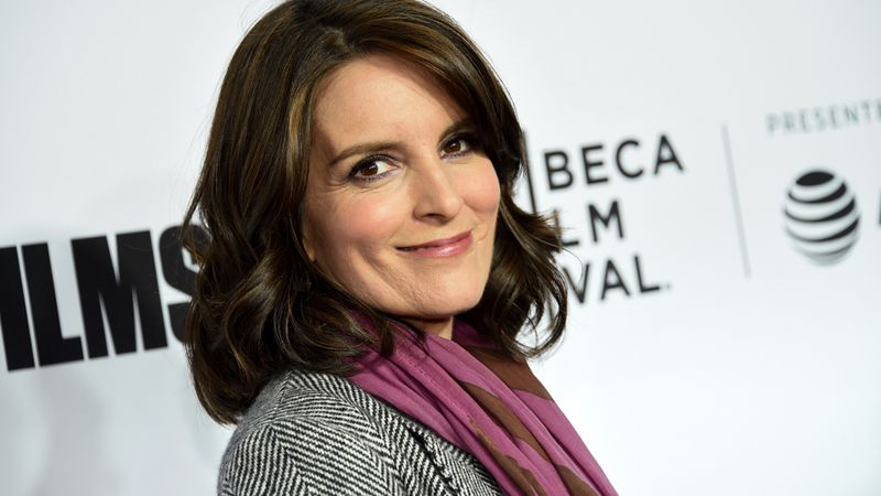 FILE - In this April 18, 2018 file photo, Tina Fey attends the Tribeca Film Festival world...