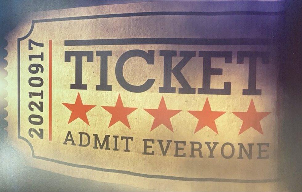 Ticket Admit Everyone