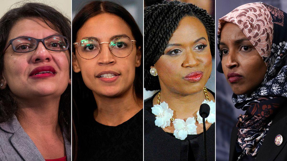 All four congresswomen known as the Squad -- Reps. Ilhan Omar of Minnesota, Alexandria...