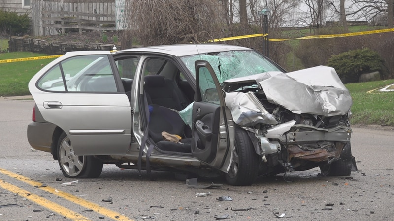 A serious car crash Saturday morning in Rockford sends four people to the hospital and closes...