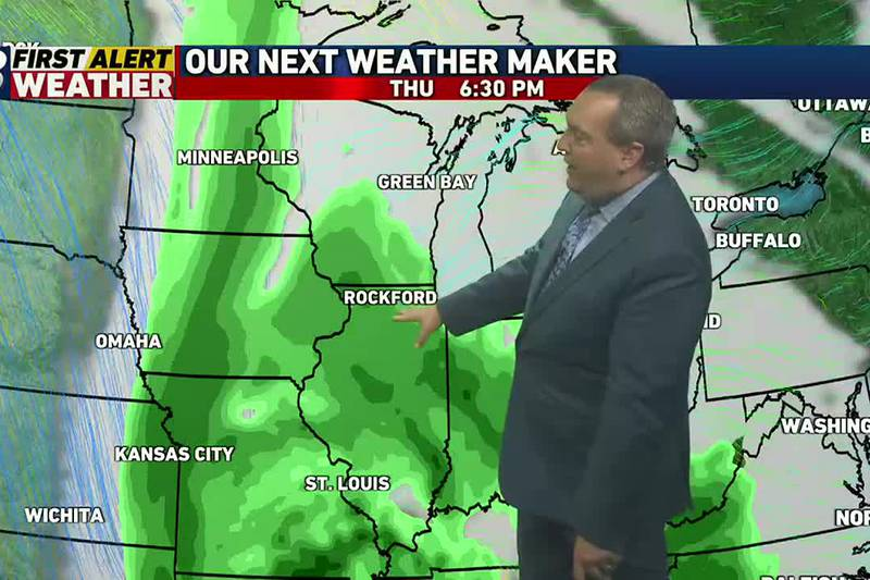 Another soggy storm system will take aim on the area later on in the week.