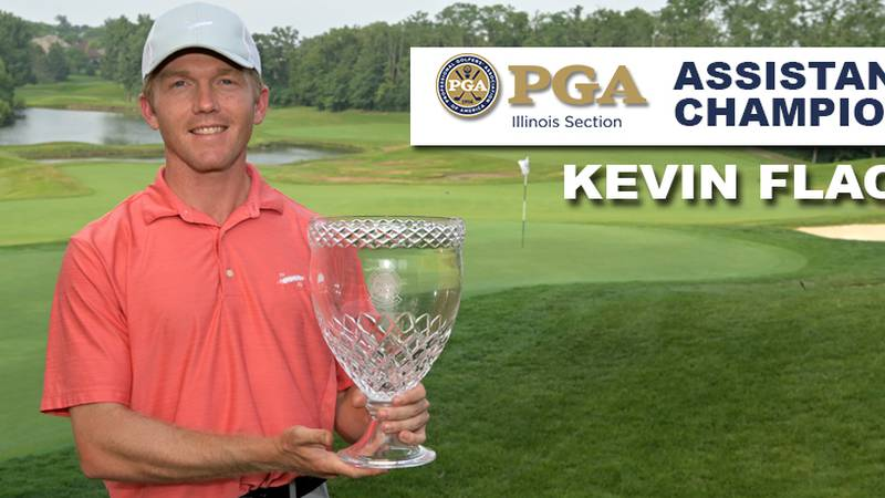 Kevin Flack turned in a winning total of 9-under-par 135 to capture his second National Car...