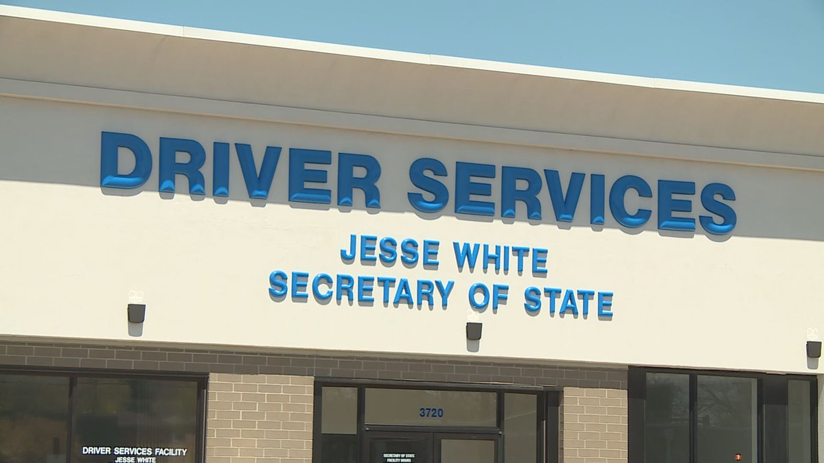 Illinois driver services facilities to close Friday in observance of Juneteenth.