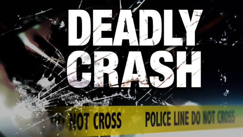 A 34-year-old woman from Beloit is dead after a crash in Rock County Sunday afternoon.