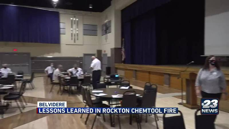 Lessons learned in Rockton Chemtool fire