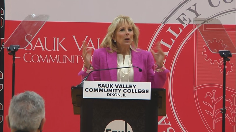 Sauk Valley Community College in Dixon welcomed one of the most powerful women in America to...