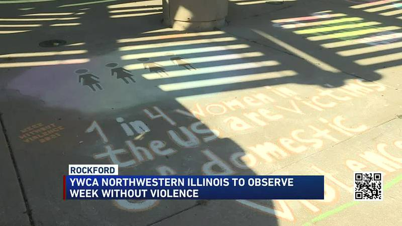 """Area organizations """"Chalk it up to Raise Awareness"""" for a week without violence"""